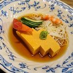 72570861 - あん肝豆腐
