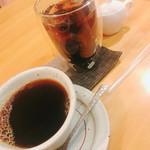 藍花 - タンザニアと水出しアイスコーヒー