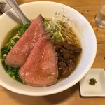 麺屋 西川 - 特製牛骨麺