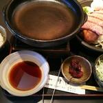72575055 - 陶板焼定食