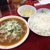 とん平食堂 - 料理写真:もつ煮定食700円