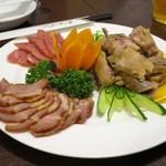 姜太公 - 前菜の盛り合わせ