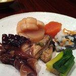 魚菜 - 料理写真:おまかせ酒菜の盛合せ
