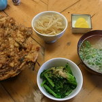 味くら 三木 - かき揚げ丼定食
