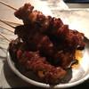 焼き鳥屋台 - 料理写真:地鶏