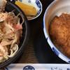 めん房 丸仁 - 料理写真:ソースかつ丼と越前おろし蕎麦