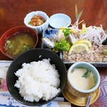 磯料理 みずるめ - 料理写真:かなり良心的価格の、なめろう定食