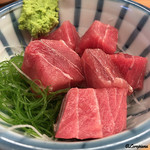いづみや - 料理写真:鮪ブツ