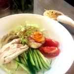 麺屋502 - 塩ぶっかけ冷麺(夏期限定)