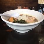 72585549 - 煮干濃麺+煮卵(クーポン使用)