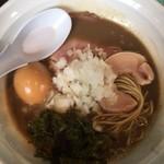 72585550 - 煮干濃麺+煮卵(クーポン使用)
