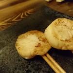 鉄板串焼き じゅうべぇ - ホタテバター