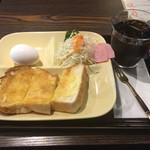 コップンカフェ - モーニングAセット