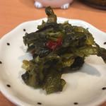 天ぷら 豊野 - 小皿にね〜。