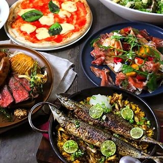 秋のパーティーはリブラボの肉盛り&秋刀魚で!