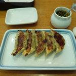 リンガーハット - 料理写真:ぎょうざ ゆず胡椒がおいしい