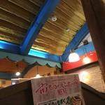 南島食楽園 - 店内、天井