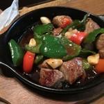 南島食楽園 - サイコロステーキ