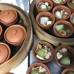 中國料理kujikuji - 料理写真:日替わりの健康的ランチ蒸スープ