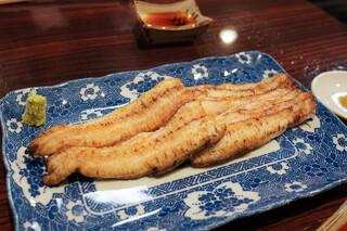 うなぎ 魚政 - しら焼き坂東太郎特大
