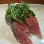 sushi dining 鸞 - 〆さんま(脂のってる)