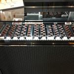 シャポン - チョコレートの販売コーナー