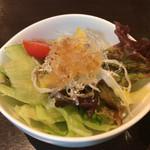 水前寺東濱屋 - サラダ