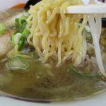 いとう食堂 - しおラーメンの麺