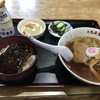 牛乳屋食堂 - 料理写真:【2017.8.10】牛乳屋ミニセット¥1000