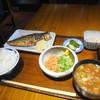 頑張ル葱や平吉 - 料理写真:鯖塩焼き定食