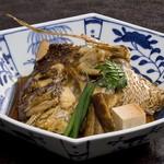 シェラトン都ホテル大阪 日本料理 うえまち - 鯛あらだき