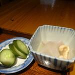 頑張ル葱や平吉 - 鯖塩焼き定食の小鉢