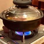 garniture - 地鶏&トリュフの土鍋ご飯2