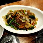 韓国料理 豚家 - (2017.05)チャプチェ