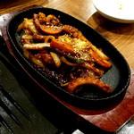 韓国料理 豚家 - (2017.05)辛いタコ炒め
