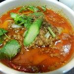 XI'AN - ハーフセットのマーラー麺