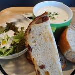 パンとエスプレッソと - スープセットのパン