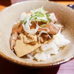 麺 みつヰ - チャーシューご飯