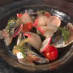 OUI - 鮮魚のカルパッチョ(^_^)