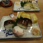 72614520 - 鯖寿司と小鯛の押し寿司