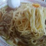 中華そば 琴の - 替え玉の細麺