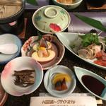十和田湖レークサイドホテル - 料理写真:夕飯