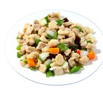 餃子の唐安楼 - 鶏肉とカシューナッツ炒め