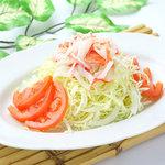 唐安楼 - 中華風蟹肉入りサラダ
