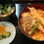 うなぎ・日本料理 ゑびす家 - 天丼。