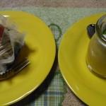 ジュリアン - 料理写真:「モンブラン」「マンゴープリン」。