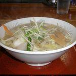 げんき屋 - 料理写真:野菜たっぷり塩タンめん 745円