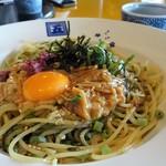 五右衛門 - 料理写真:3種のネバネバと生海苔
