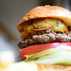 マクレーン - 料理写真:マクレーン天麩羅バーガー@税込1,380円:パティの上に鎮座する、野菜かき揚げ