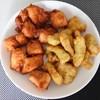 とり鉄 - 料理写真:フライドチキン&のり味チキン370円分